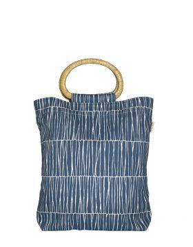 Väska med handtag i bambu